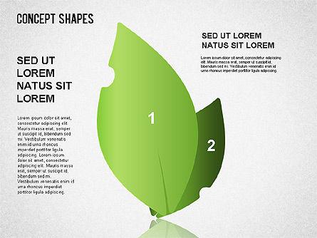 Concept Shapes Set, Slide 8, 01347, Shapes — PoweredTemplate.com