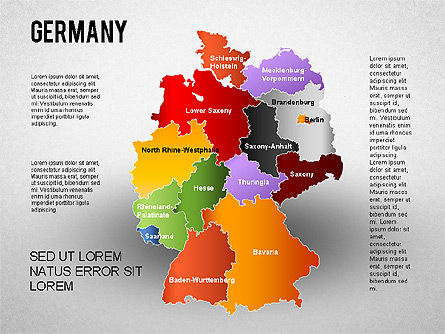 germany presentation diagram for powerpoint presentations download