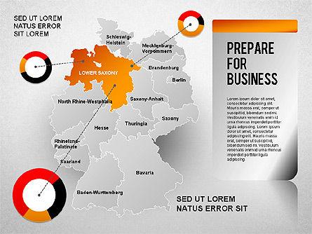 Germany Presentation Diagram, Slide 3, 01349, Business Models — PoweredTemplate.com
