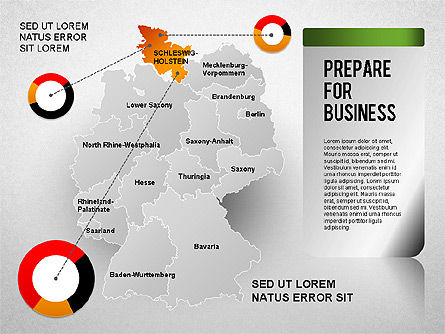 Germany Presentation Diagram, Slide 4, 01349, Business Models — PoweredTemplate.com