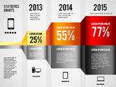 Presentation Templates: Kotak Peralatan Grafik Infografis #01352