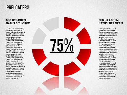 Preloader Toolbox, Slide 12, 01353, Stage Diagrams — PoweredTemplate.com