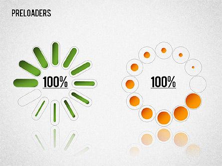 Preloader Toolbox, Slide 14, 01353, Stage Diagrams — PoweredTemplate.com