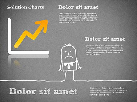 Finding Solution Chart, Slide 10, 01354, Business Models — PoweredTemplate.com