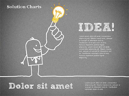 Finding Solution Chart, Slide 11, 01354, Business Models — PoweredTemplate.com