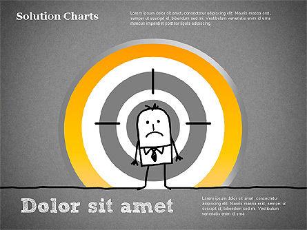 Finding Solution Chart, Slide 12, 01354, Business Models — PoweredTemplate.com