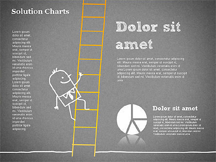 Finding Solution Chart, Slide 15, 01354, Business Models — PoweredTemplate.com