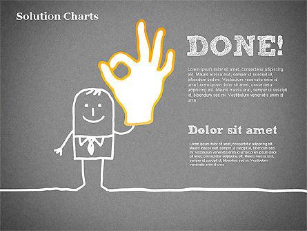 Finding Solution Chart, Slide 16, 01354, Business Models — PoweredTemplate.com