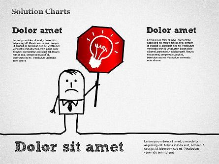 Finding Solution Chart, Slide 5, 01354, Business Models — PoweredTemplate.com