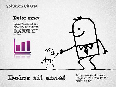 Finding Solution Chart, Slide 6, 01354, Business Models — PoweredTemplate.com
