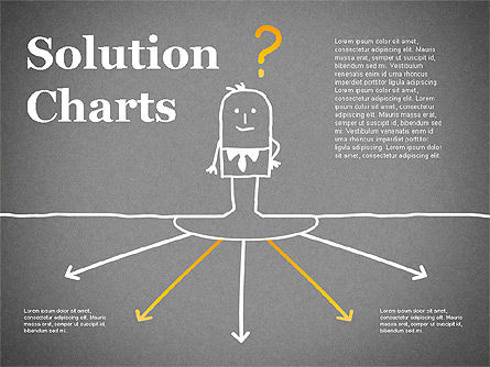 Finding Solution Chart, Slide 9, 01354, Business Models — PoweredTemplate.com