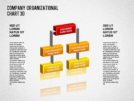 3D Org Chart for PowerPoint Presentations, Download Now 01355 ...