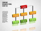 Organizational Charts: 3D Org Chart #01355
