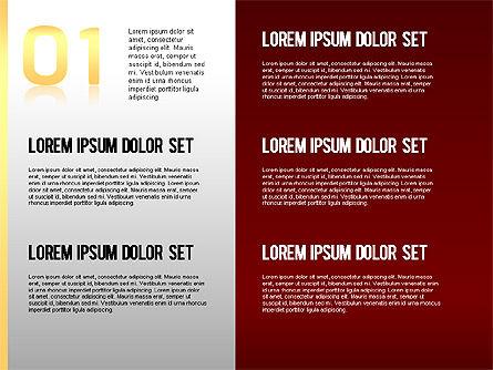 Step by Step Chart, Slide 2, 01358, Timelines & Calendars — PoweredTemplate.com