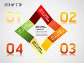 Timelines & Calendars: Schritt für Schritt Diagramm #01358