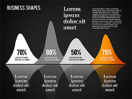 Business Shapes Toolbox, Slide 10, 01360, Shapes — PoweredTemplate.com
