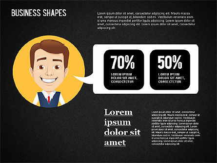 Business Shapes Toolbox, Slide 11, 01360, Shapes — PoweredTemplate.com