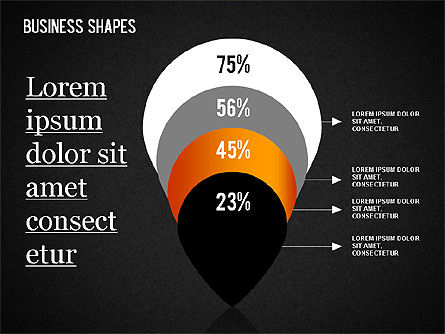 Business Shapes Toolbox, Slide 12, 01360, Shapes — PoweredTemplate.com