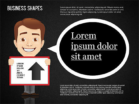 Business Shapes Toolbox, Slide 16, 01360, Shapes — PoweredTemplate.com
