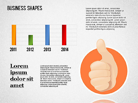 Business Shapes Toolbox, Slide 6, 01360, Shapes — PoweredTemplate.com