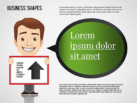 Business Shapes Toolbox, Slide 8, 01360, Shapes — PoweredTemplate.com