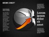 Arrows Around Sphere#16