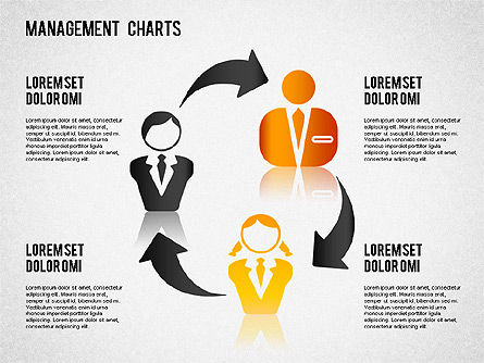 Management Diagrams and Icons, Slide 10, 01365, Business Models — PoweredTemplate.com