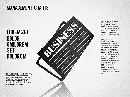 Management Diagrams and Icons, Slide 12, 01365, Business Models — PoweredTemplate.com