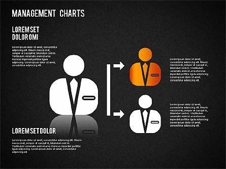 Management Diagrams and Icons, Slide 13, 01365, Business Models — PoweredTemplate.com