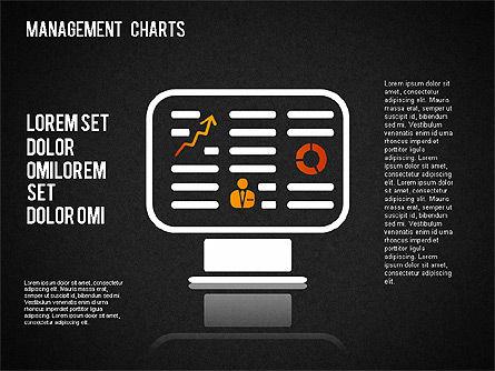Management Diagrams and Icons, Slide 16, 01365, Business Models — PoweredTemplate.com