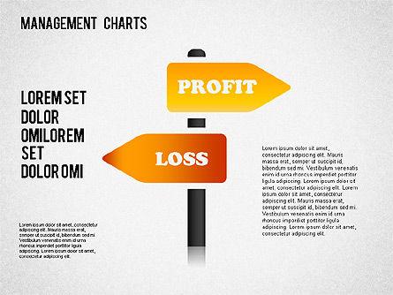 Management Diagrams and Icons, Slide 8, 01365, Business Models — PoweredTemplate.com