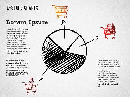 E-Store Analyzing Chart , Slide 2, 01370, Business Models — PoweredTemplate.com