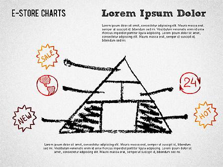 E-Store Analyzing Chart , Slide 4, 01370, Business Models — PoweredTemplate.com