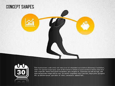 Financial Concept Shapes Slide 2