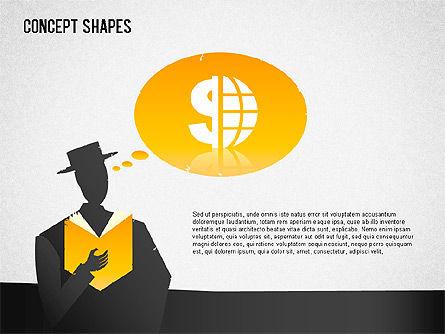 Financial Concept Shapes Slide 3