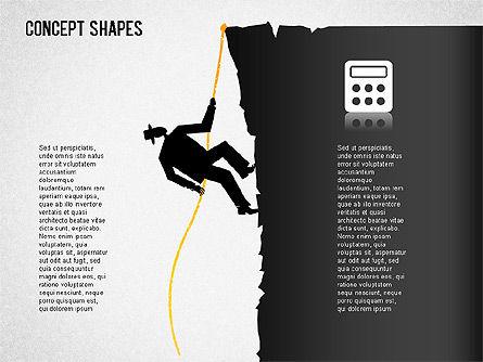 Financial Concept Shapes Slide 4