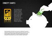 Financial Concept Shapes#14