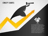 Financial Concept Shapes#5