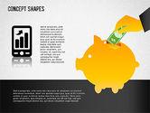Financial Concept Shapes#6