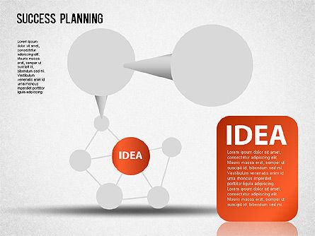 Success Planning Chart, 01376, Stage Diagrams — PoweredTemplate.com