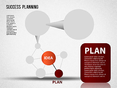 Success Planning Chart, Slide 2, 01376, Stage Diagrams — PoweredTemplate.com