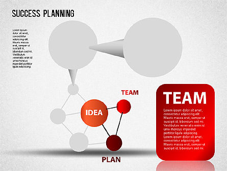Success Planning Chart, Slide 3, 01376, Stage Diagrams — PoweredTemplate.com