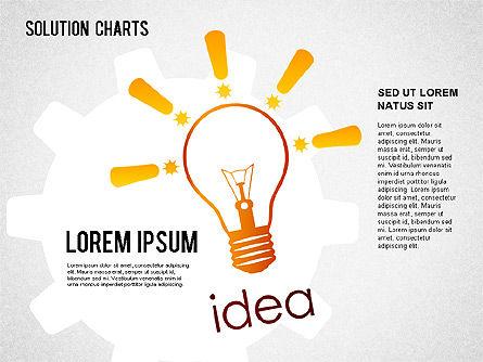 Solution Shapes and Charts, Slide 2, 01377, Business Models — PoweredTemplate.com