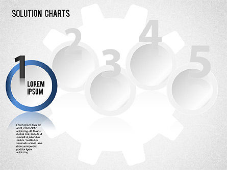 Solution Shapes and Charts, Slide 4, 01377, Business Models — PoweredTemplate.com