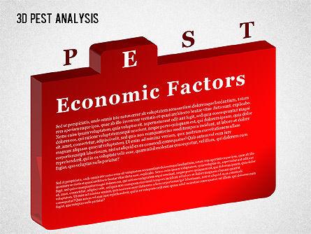 3D PEST Analysis Diagram, Slide 5, 01380, Business Models — PoweredTemplate.com