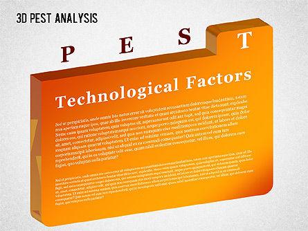 3D PEST Analysis Diagram, Slide 7, 01380, Business Models — PoweredTemplate.com