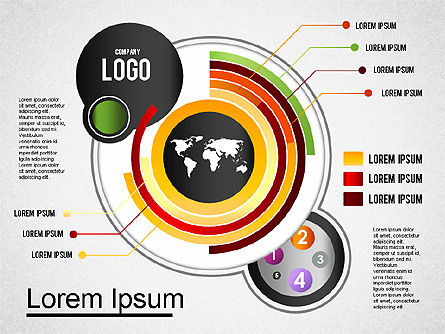 Infografik-Toolbox, Folie 4, 01383, Business Modelle — PoweredTemplate.com