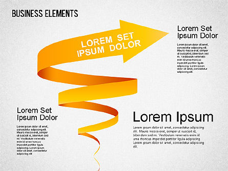 Illustrative Shapes, Slide 2, 01385, Shapes — PoweredTemplate.com