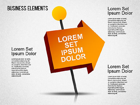 Illustrative Shapes, Slide 3, 01385, Shapes — PoweredTemplate.com