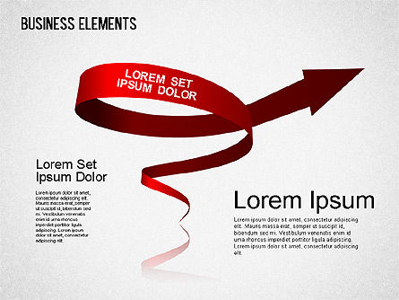 Illustrative Shapes, Slide 4, 01385, Shapes — PoweredTemplate.com